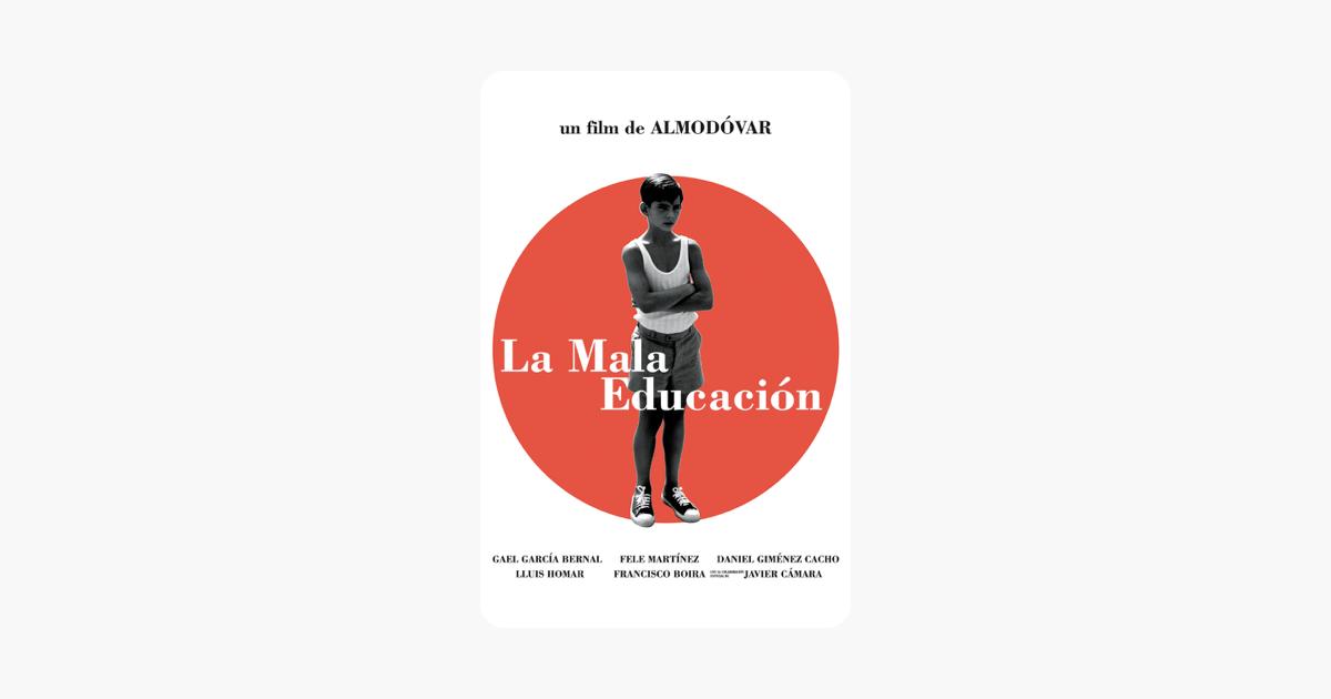 "La mala educaci³n"" in iTunes"