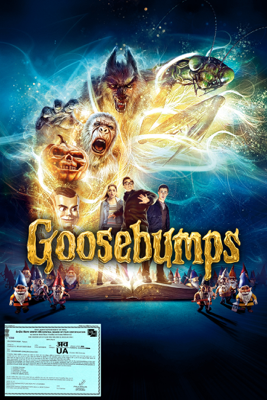 Rob Letterman - Goosebumps artwork