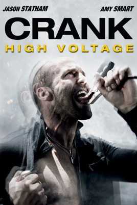 Poster of Crank: High Voltage 2009 Full Hindi Dual Audio Movie Download BluRay 720p