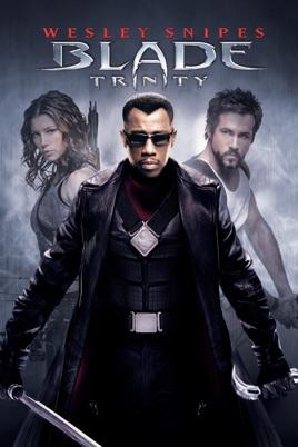 Poster of Blade: Trinity 2004 Full Hindi Dual Audio Movie Download BluRay 720p