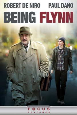 Poster of Being Flynn 2012 Full Hindi Dual Audio Movie Download BluRay 720p