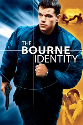 Poster of The Bourne Identity 2002 Full Hindi Dual Audio Movie Download BluRay 720p