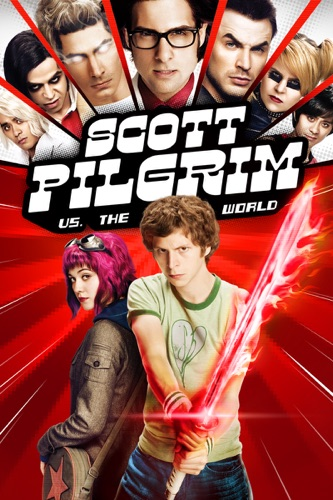 Scott Pilgrim vs. The World poster