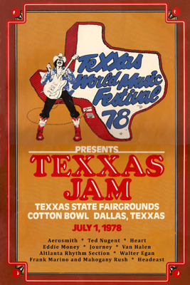 James Austin - Texxas Jam 78  artwork