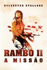 Capa do filme Rambo II: A Missão