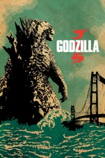 Capa do filme Godzilla (2014)