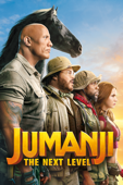Jumanji: The Next Level - Jake Kasdan Cover Art