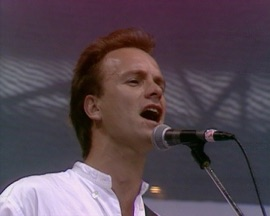 Roxanne (Live at Live Aid, Wembley Stadium, 13th July 1985) Sting Rock Music Video 1985 New Songs Albums Artists Singles Videos Musicians Remixes Image