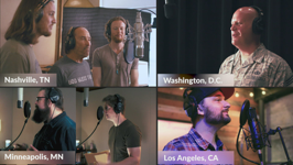 God Bless The U.S.A. (feat. Lee Greenwood & United States Air Force Band) - Home Free Cover Art