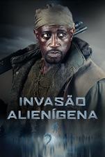 Capa do filme Invasão Alienígena
