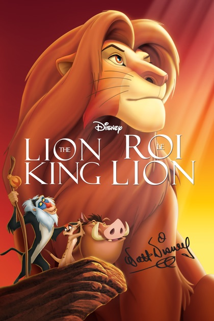 the lion king on itunes