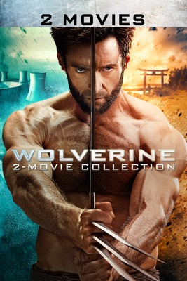 Poster for Wolverine 2-Movie Collection