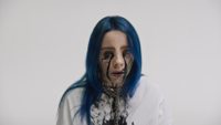 Billie Eilish - when the party's over artwork