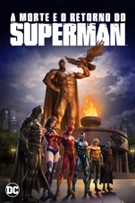 Capa do filme A Morte e o Retorno do Superman