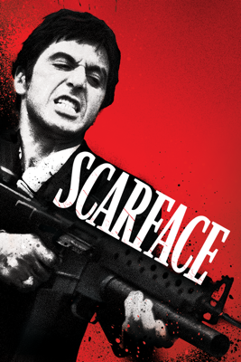 Brian De Palma - Scarface (1983) illustration