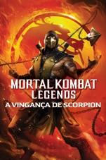 Capa do filme Mortal Kombat Legends: A Vingança de Scorpion