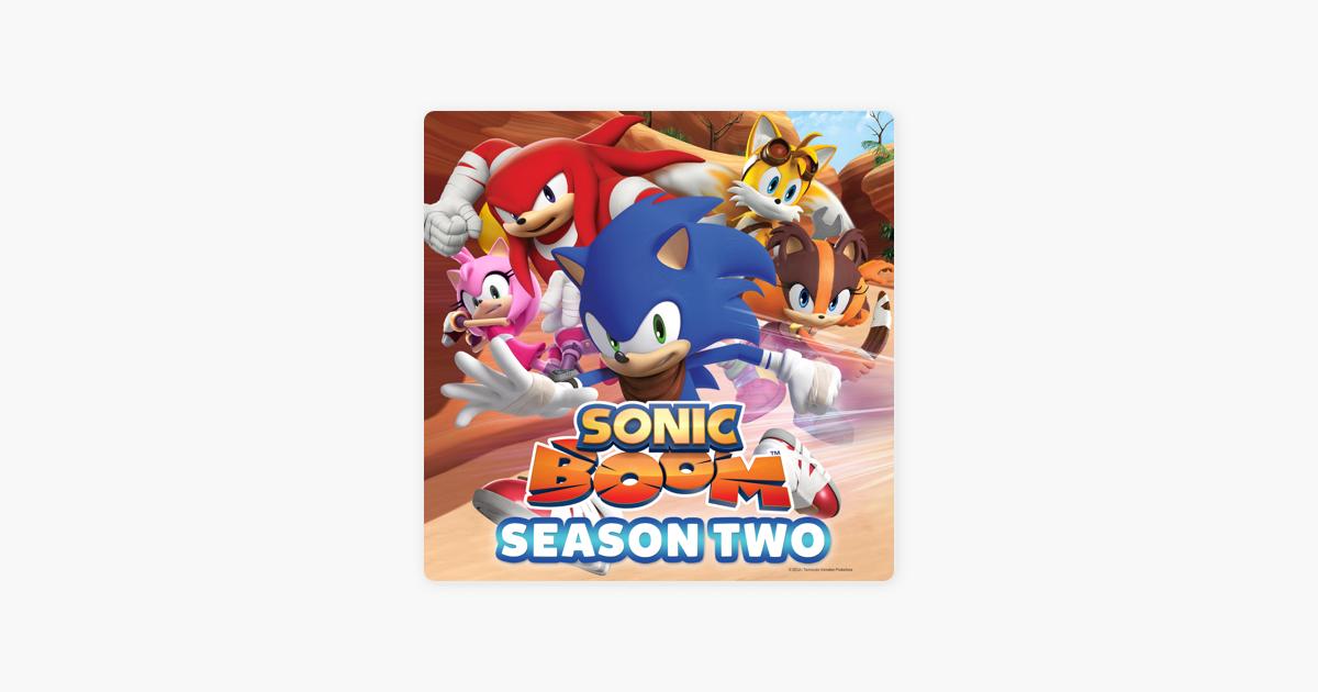 Sonic Boom, Season 2