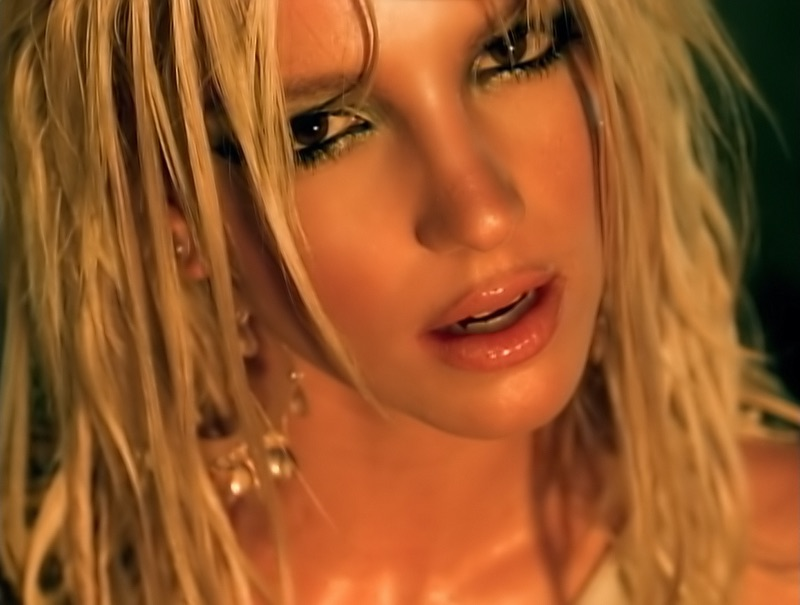 I M A Slave 4 U Britney Spears Video Music Store