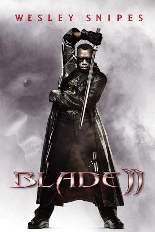 Poster of Blade II 2002 Full Hindi Dual Audio Movie Download BluRay 720p