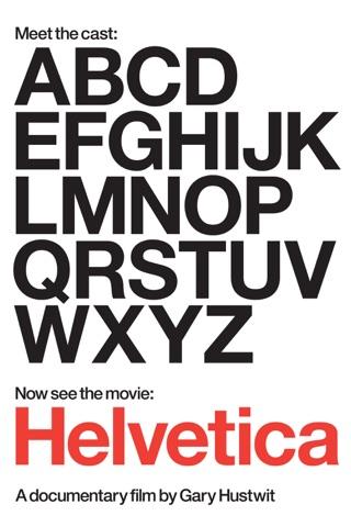 Helvetica on iTunes