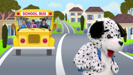 The Wheels on the Bus (Schoolbus Version) - Zouzounia