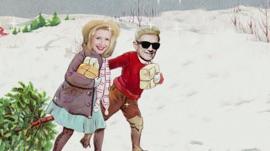 Rockin' Around the Christmas Tree (Lyric Video) Heino & Sarah Jane Scott Christmas Music Video 2016 New Songs Albums Artists Singles Videos Musicians Remixes Image