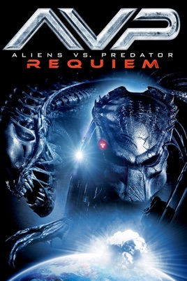 Poster of AVPR: Aliens vs Predator - Requiem 2007 Full Hindi Dual Audio Movie Download BluRay 720p