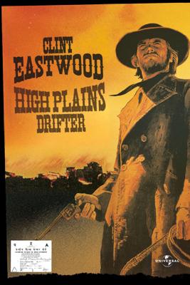 Clint Eastwood - High Plains Drifter artwork
