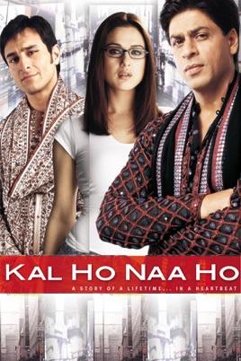 Poster of Kal Ho Naa Ho 2003 720p Hindi BluRay Full Movie Download HD