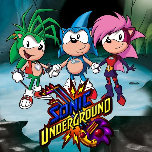 Sonic Underground: The Game - Sonic Fanon Wiki, the Sonic ...  Sonic Underground
