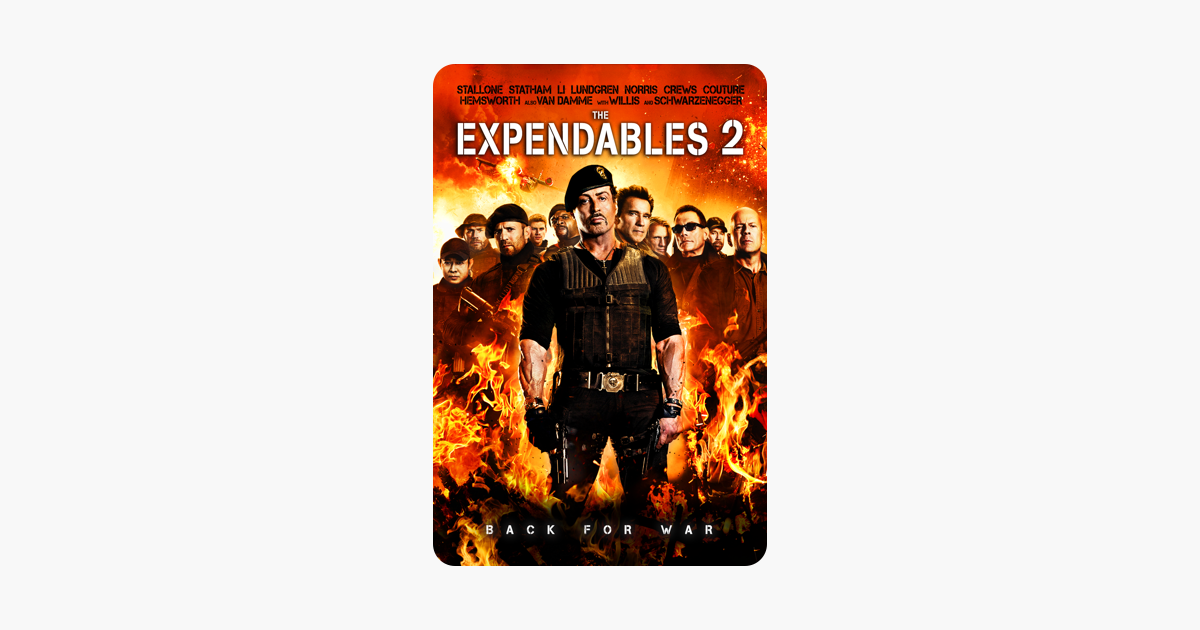 The Expendables 2 on iTunes