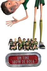 Capa do filme Um Time Show de Bola (Metegol)