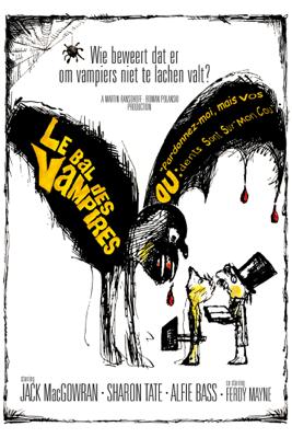 Roman Polanski - Le bal des vampires illustration