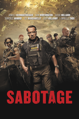 David Ayer - Sabotage illustration