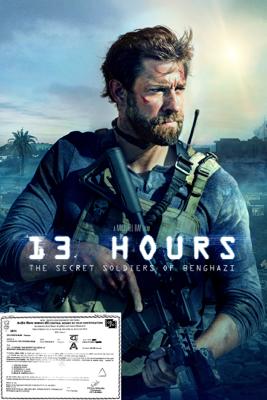 Michael Bay - 13 Hours: The Secret Soldiers of Benghazi artwork