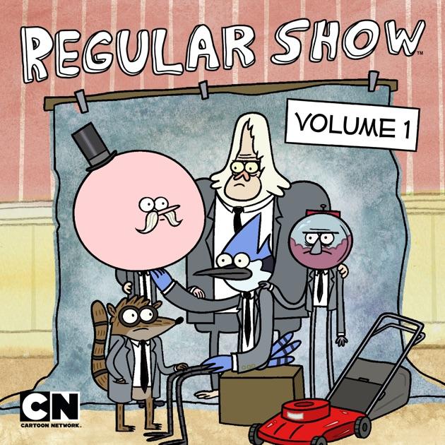 regular show vol 1 on itunes