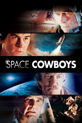 Clint Eastwood - Space Cowboys  artwork