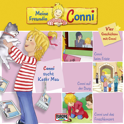 Conni sucht Kater Mau - Meine Freundin Conni
