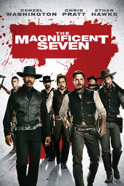 the magnificent seven 2016 on itunes. Black Bedroom Furniture Sets. Home Design Ideas
