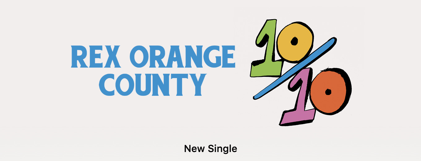 10/10 - Single by Rex Orange County