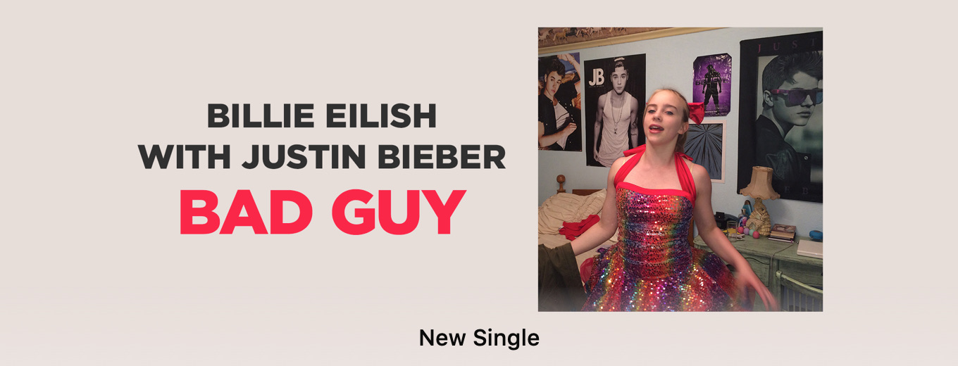 bad guy - Single by Billie Eilish & Justin Bieber
